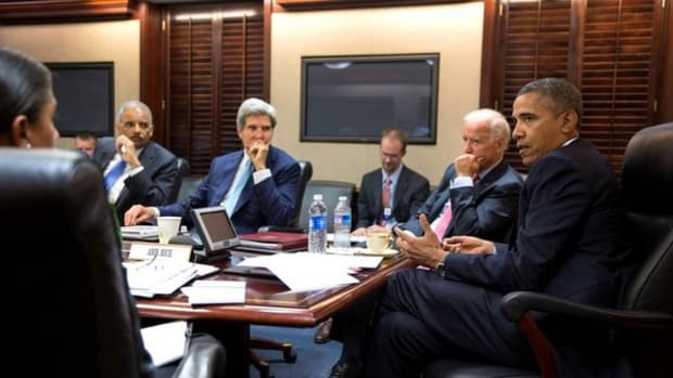 Barack Obama, Susan Rice, Eric Holder,
