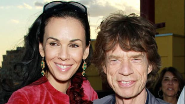 Mick-Jagger-and-L'Wren-Scott