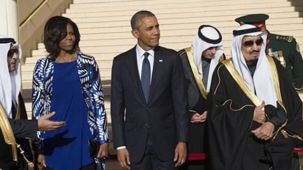 M Obama Saudis