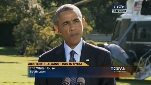 potus airstrikes