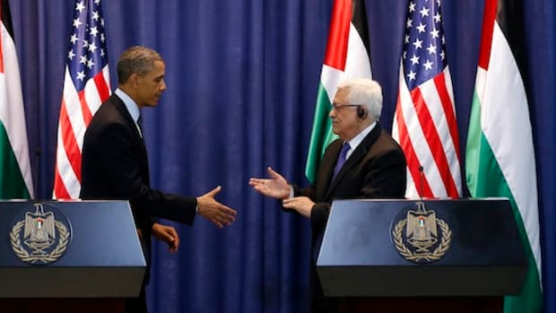 U.S. President Obama and Palestinian Pr