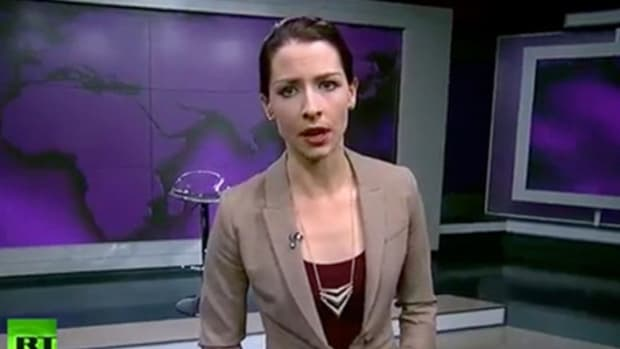 Abby Martin, Russia Today presenter