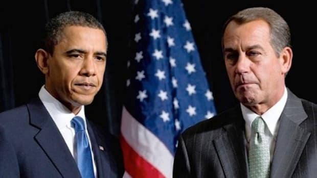 President Obama and Rep. John Boehner