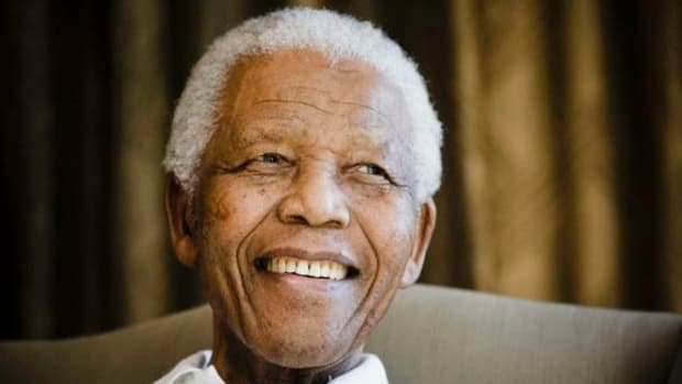 A-portrait-of-Nelson-Mandela-in-March-2