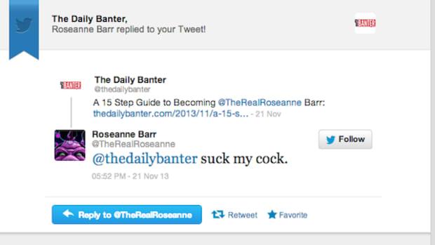 Roseanne Barr Tweet