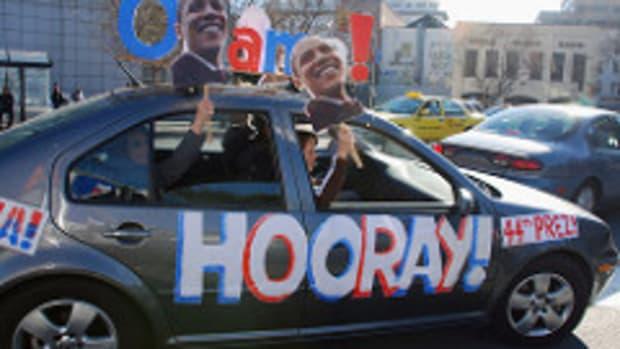 Obama Inauguration Day in San Francisco - 215