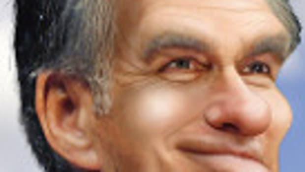 Mitt Romney - Caricature