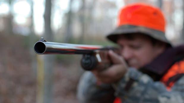 "Looks like the barrel of a ""dirty harry"" gun but it's a shot gun by annettea3."