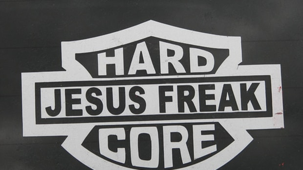 HARD CORE Jesus freak by fallacy.