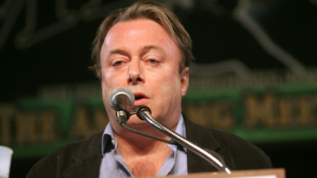 TAM 5 - Christopher Hitchens by Scott Hurst.
