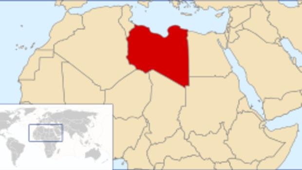 (en) Libya Location (he) מיקום לוב