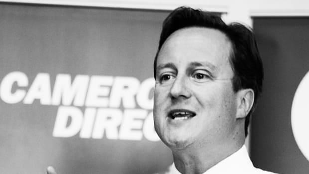 David Cameron mono by andrew moores.