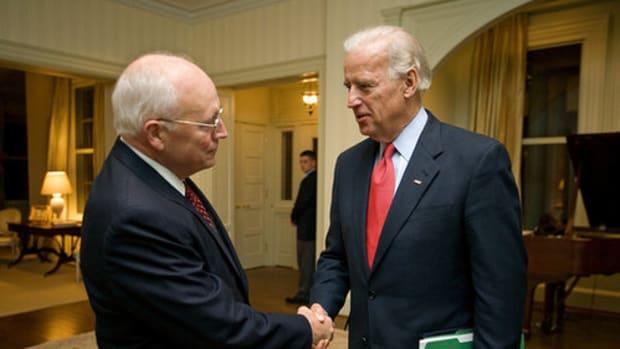 Joe Biden and Dick Cheney by blackenterprisedotcom.