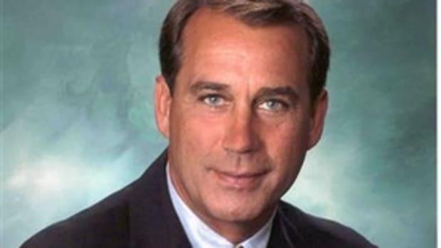 House Minority Leader John Boehner (R)