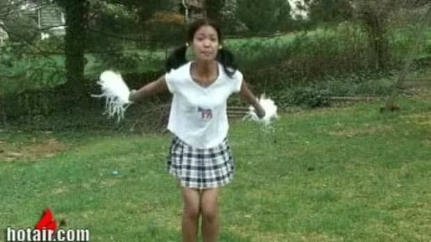 michelle malkin as a cheerleader