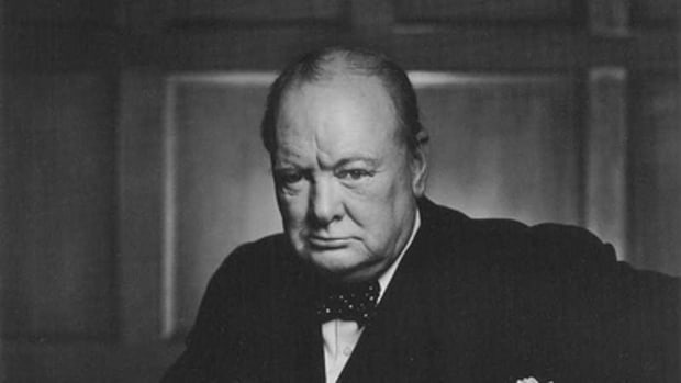"""Winston Churchill 30 December 1941"" By Yousef Karsh by monkeyc.net."