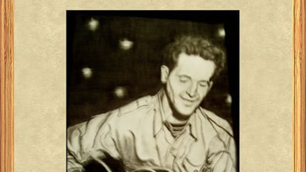 Woodie Guthrie by naturesshadowdancer.