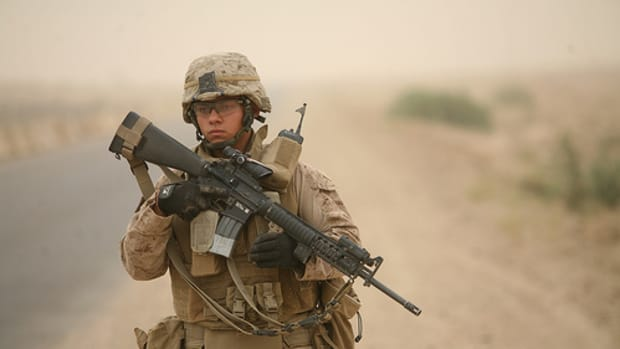 Marine In Iraq