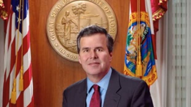 Official photo of former Florida Governor Jeb Bush