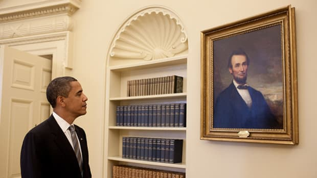 Obama and Lincoln