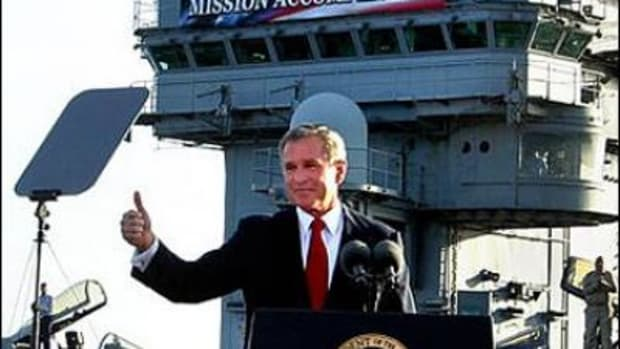 Mission Accomplished Bush