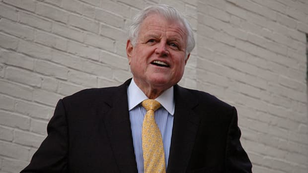 Ted Kennedy by jf photo.