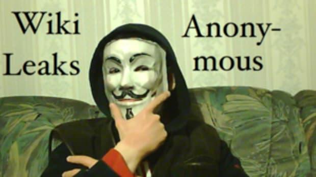 Deutsch: Alexander Klimov als Anonymous-Aktivi...