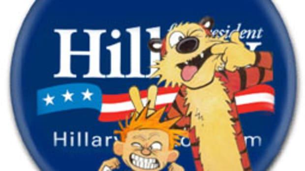 Hillary Clinton - Calvin & Hobbes