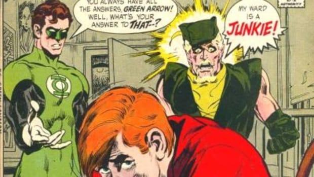 speedy green arrow junkie