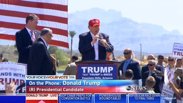 Donald Trump Phoenix, Arizona