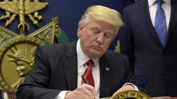 donald trump executive order