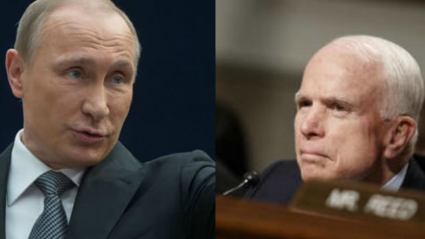 McCain Putin