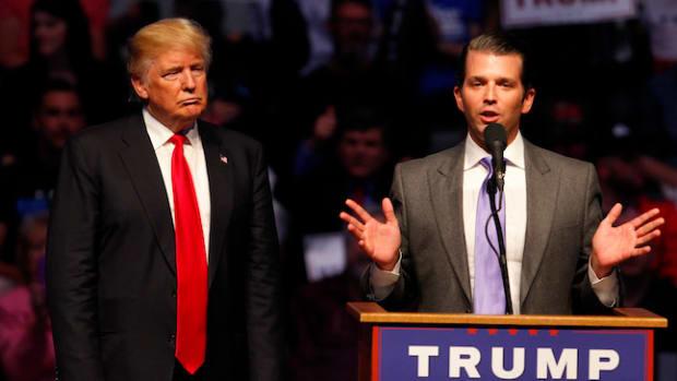 trump and trump jr