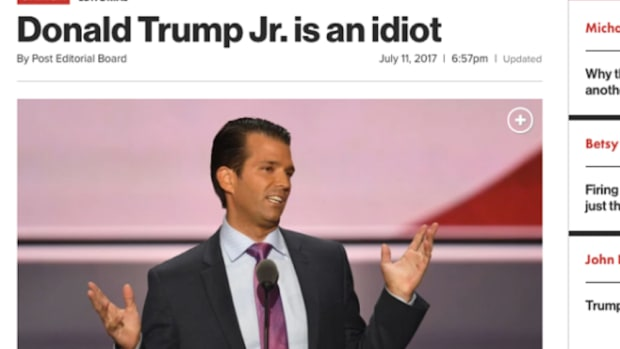 NY Post Donald Trump Jr