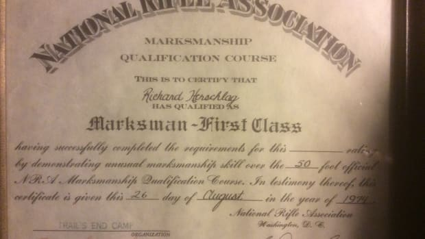 NRA Certificate