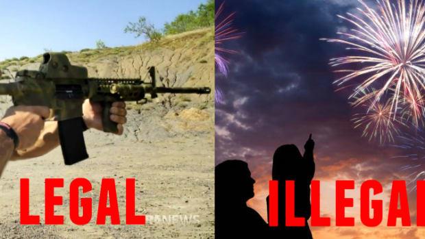 ar-15 vs fireworks