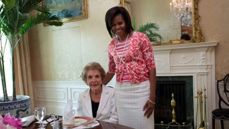 Nancy Reagan is Dead So of Course Conservatives Use the Occasion to Trash Michelle Obama
