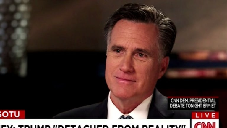 Mitt Romney is Offended By Everything Trump Says Except the Black Stuff