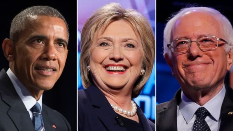A Hillary Clinton/Bernie Sanders Ticket With President Obama's Support Would Be Near Unstoppable