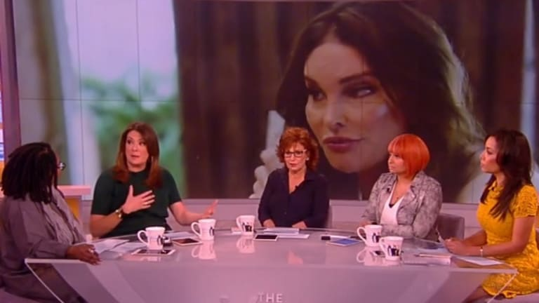 Joy Behar Says Caitlyn Jenner Supporting Ted Cruz is Like 'Jews For Hitler'