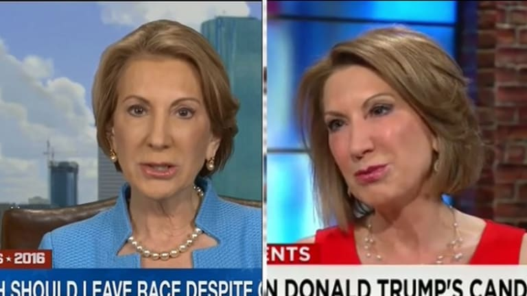 Debunking Carly Fiorina's Absurd Lie About Donald Trump