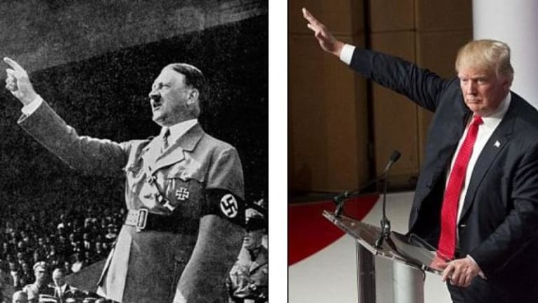 Hillary Clinton Just Compared Donald Trump to Adolf Hitler