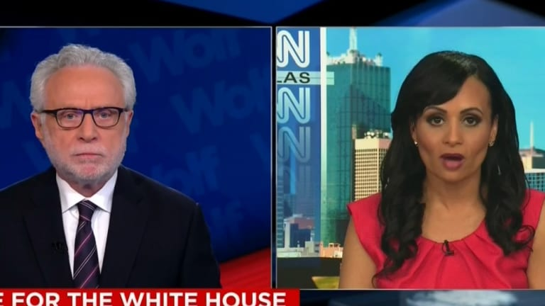 You Cannot Un-See The Mental Picture This Wolf Blitzer-Katrina Pierson Clip Conjures