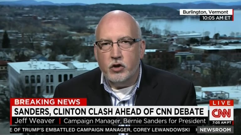 Watch Bernie Sanders' Campaign Manager Blame Hillary Clinton For ISIS