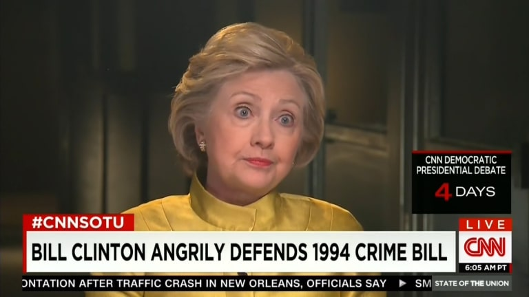 Hillary Clinton Blows Chance to Repair Bill's #BlackLivesMatter 'Superpredators' Stumble