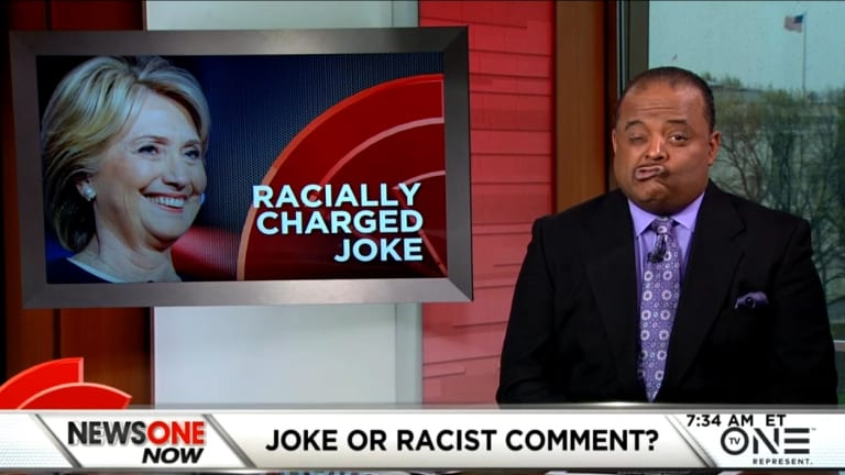 Watch Roland Martin Rip Hillary and Di Blasio For 'Colored People Time' Joke