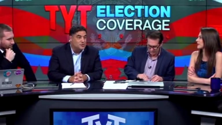 "Progress! Only One of The Young Turks Hosts Is Calling Hillary a ""Fascist"""