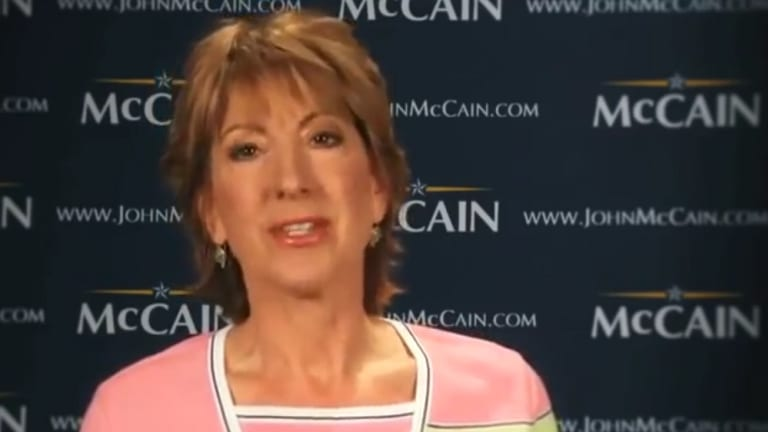"Watch Carly Fiorina Talk About Her ""Admiration"" For ""Tough, Determined"" Hillary Clinton"