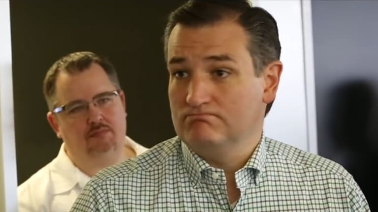 How Many White People Are In Ted Cruz's Loser Pep-Talk Video?