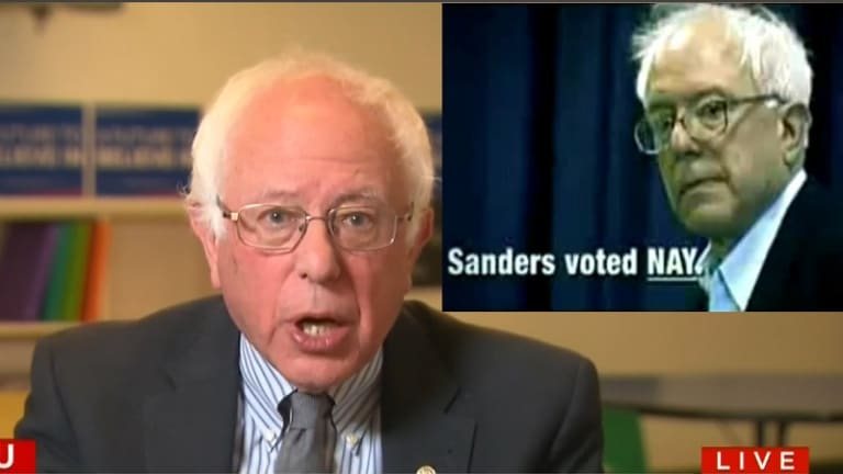 This Attack Ad Said Bernie Sanders Was In The Pocket of Big Child Molester